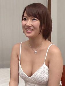 Harua Narimiya - Busty female hard fucked and jizzed on tits - Screenshot 3