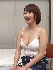 Harua Narimiya - Busty female hard fucked and jizzed on tits - Screenshot 7
