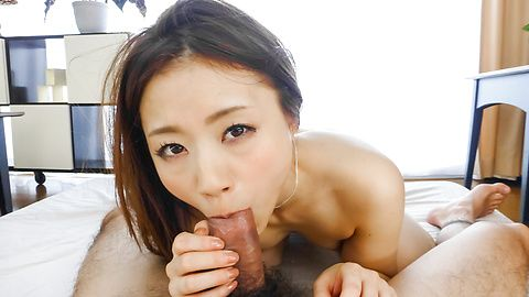 Astounding sex adventure in POV with slim Mayuka Akimoto