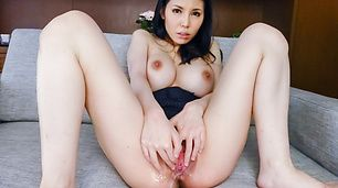 Hot Asian milfenjoys two cocks in raw threesome