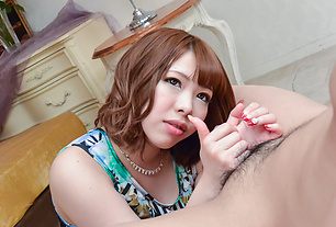 POV asian blowjob with amazingly hot MERU