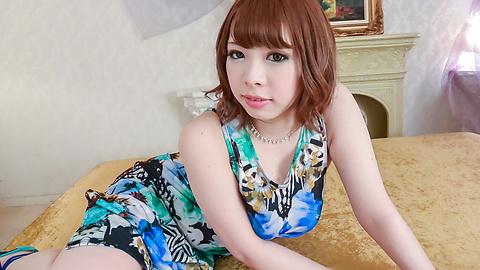 Meru Ayase - POV asian blowjob withamazingly hotMERU - Picture 3
