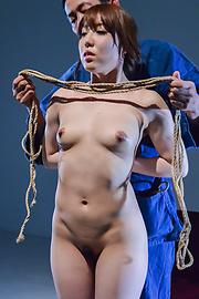 Rina Uchimura - Japanese rope bondage along superbRina Uchimura - Picture 3