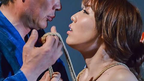 Rina Uchimura - Japanese rope bondage along superbRina Uchimura - Picture 4