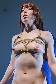 Rina Uchimura - Japanese rope bondage along superbRina Uchimura - Picture 6
