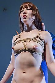 Rina Uchimura - Japanese rope bondage along superbRina Uchimura - Picture 8