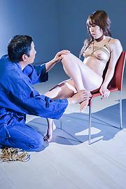 Rina Uchimura - Japanese rope bondage along superbRina Uchimura - Picture 9
