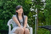 Asian schoolgirl sex with toys in superb outdoor scenes  Photo 9