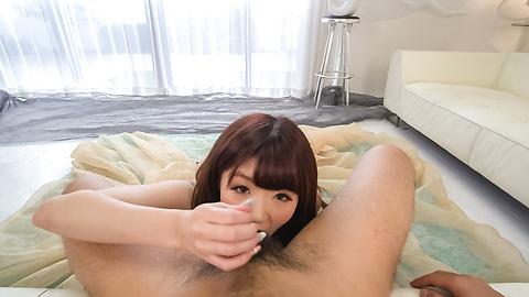 Maya Kawamura - Japanese blowjob in POV withMaya Kawamura - Picture 5