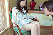 Japanese milf devours cock in various hardcore scenes  Photo 1