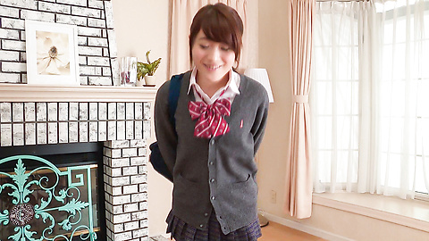 Hina Makimura - Perfect POV blowjob by young Hina Makimura - Picture 1