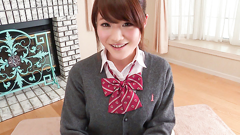 Hina Makimura - Perfect POV blowjob by young Hina Makimura - Picture 3