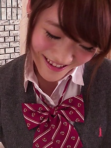 Hina Makimura - Perfect POV blowjob by young Hina Makimura - Screenshot 3