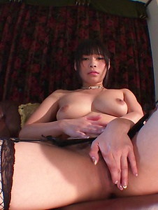 Anne - Busty Anne presents her assets in a nude solo show  - Screenshot 7