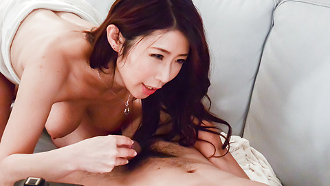 Ayumi Shinoda - Busty Ayumi Shinoda enjoys cock in fantasy modes  - Picture 6