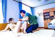 Rie Tachikawa with big asian tits gets a creampie Photo 9