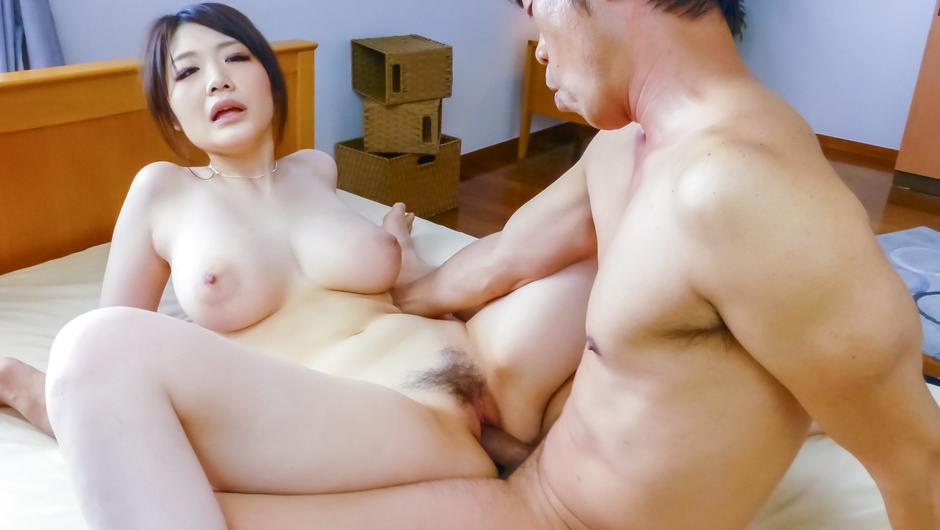 Busty Asian milf,Rie Tachikawa, fucking in hardcore