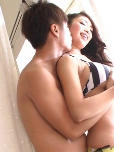 Reiko Kobayakawa - An asian blow job leads to a creamed pussy for Reiko Kobayakawa - Screenshot 3
