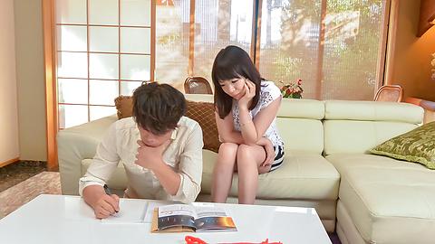 Nao Mizuki - 日本口交开始垴水木 ' s 肮脏的色情表演 - 图片 2