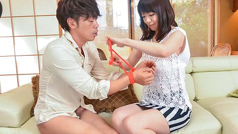 Nao Mizuki - 日本口交开始垴水木 ' s 肮脏的色情表演 - 图片 4