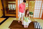 斎藤彩 - 美少女ねっとりフェラ&中出し 斎藤彩 - Picture 1