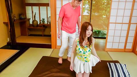 Aya Saito - Aya Saito gets ravished by a strong dick - Picture 1