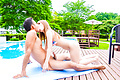 Japanese creampie in outdoor with Iroha Suzumura