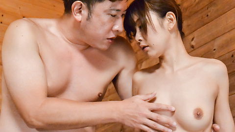Miu Suzuha - Jav creampie in the sauna with a hot woman in heats  - Picture 5