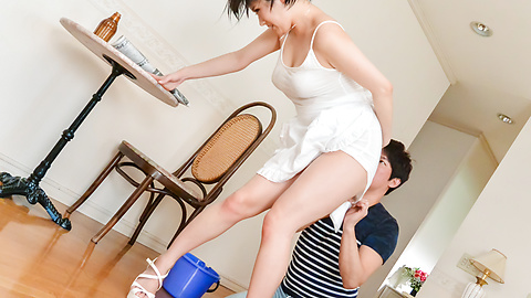 Harua Narimiya - Asian amateur porn with insolent Harua Narimiya - Picture 9