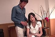 Suzu Ichinose gets her shaved Asian pussy demolished Photo 10