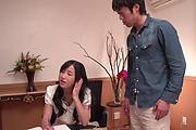 Suzu Ichinose gets her shaved Asian pussy demolished Photo 2
