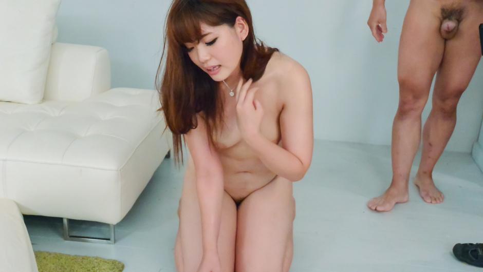 Arisa Ando provides Asian blow job in sensual ways