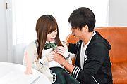 Chihiro Nishikawa - Asian girl blowjob in classroom by Chihiro Nishikawa  - Picture 11
