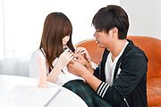 Chihiro Nishikawa - Asian girl blowjob in classroom by Chihiro Nishikawa  - Picture 12
