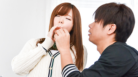 Chihiro Nishikawa - Asian girl blowjob in classroom by Chihiro Nishikawa  - Picture 8