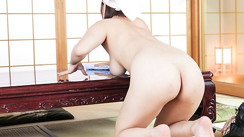 Honoka Orihara - Honoka Orihara fantastic Asian blowjobs on cam - Picture 5
