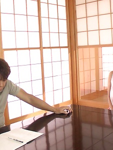Honoka Orihara - Honoka Orihara fantastic Asian blowjobs on cam - Screenshot 1