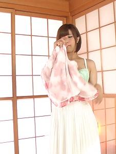 Honoka Orihara - Honoka Orihara fantastic Asian blowjobs on cam - Screenshot 3