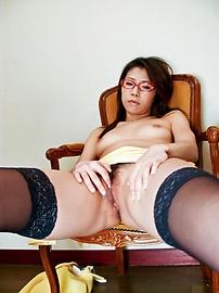 Mizuki Ogawa - Mizuki Ogawa took care of her boyfriends stiff cock - Picture 3