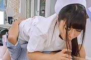Asian gangbang along horny nurse Yu Shinohara  Photo 1