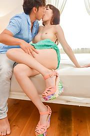 Tsurara Junna - TightTsurara Junna provides smoking Asian blowjob - Picture 5