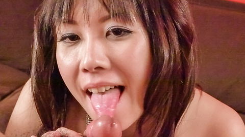 Hina Tokisaka - Big titted Hina Tokisaka gives a great japan blowjob - Picture 11