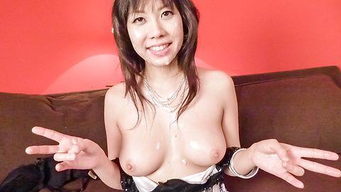 大这个回合你赢 Hina Tokisaka 给日本大口交