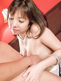Hina Tokisaka - 大这个回合你赢 Hina Tokisaka 给日本大口交 - 图片 9