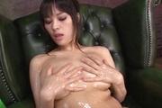 Kyouko Maki big tit asian fucks herself to an orgasm Photo 8