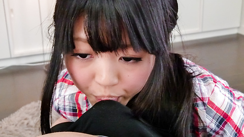 Riisa Minami -  Riisa Minami pleasing with warm asian blow job  - Picture 4