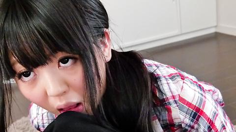 Riisa Minami -  Riisa Minami pleasing with warm asian blow job  - Picture 5
