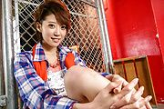 Sensual Japanese av model enjoys a stunning fuck Photo 6