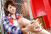Sensual Japanese av model enjoys a stunning fuck Photo 7