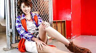 Asian pussy creampie with sexyMakoto Yuukia